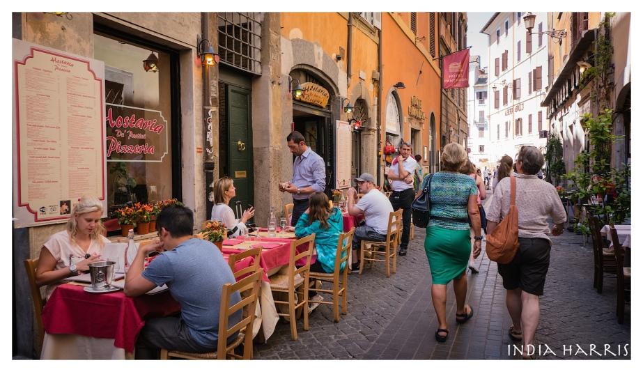 A city of restaurants